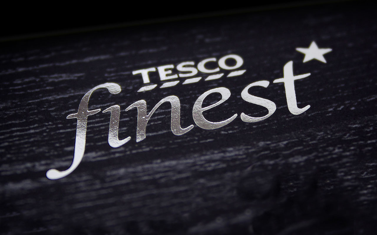 Tesco Finest Christmas Packaging Design Campaign and Launch