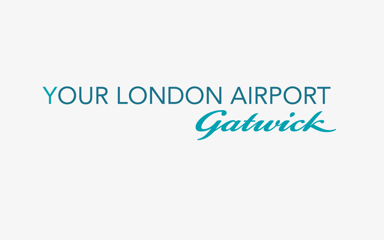 Gatwick new visual identity for internal communications