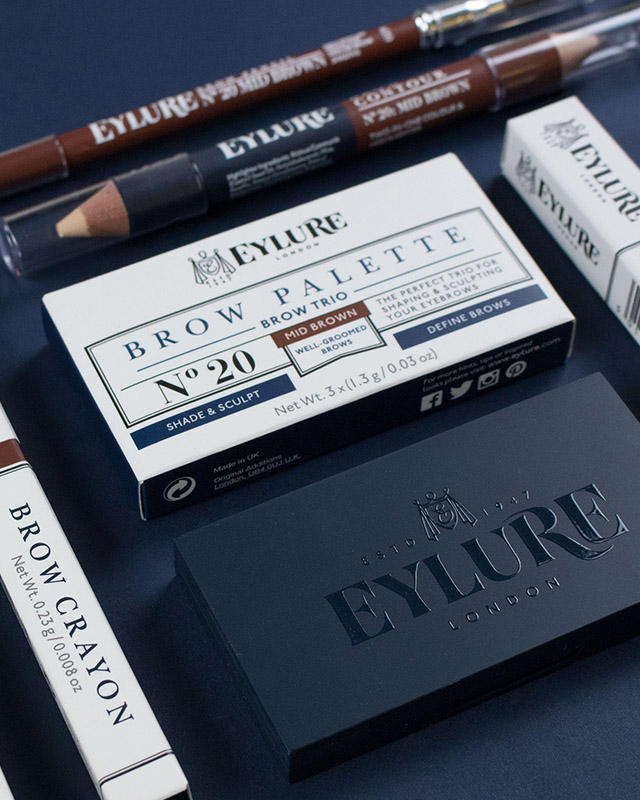 Eylure new packaging design