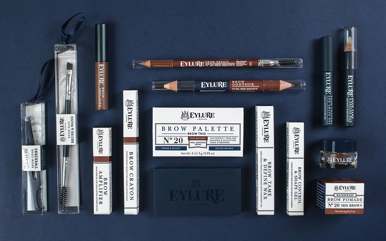 Eylure new brand identity and packaging design