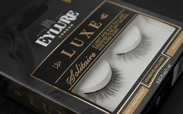 Eylure Luxe premium brand design and packaging