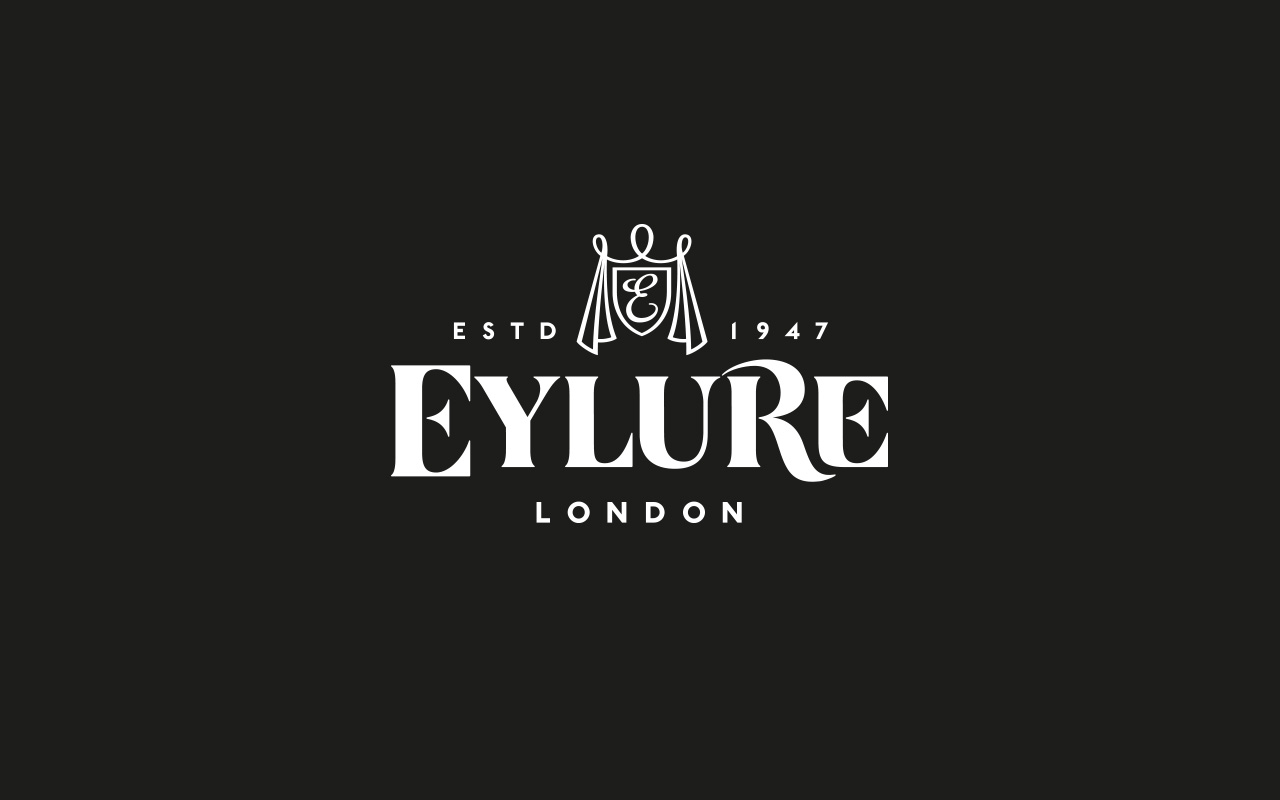 Eylure new brand identity and packaging design campaign