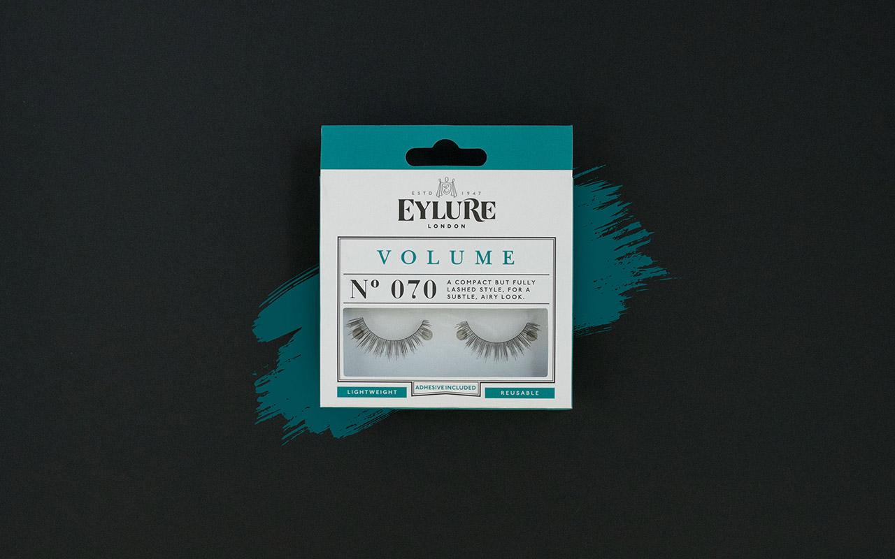 Eylure Volume lash extensions new packaging design