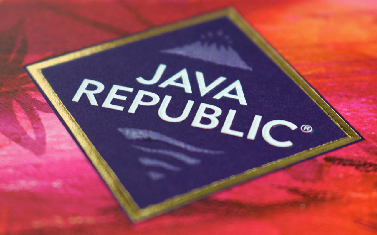 Java Republic packaging redesign and repositioning