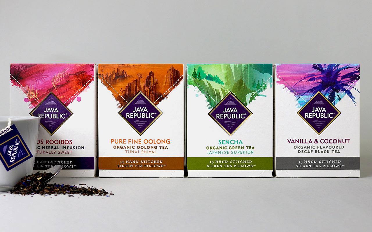 Java Republic packaging redesign