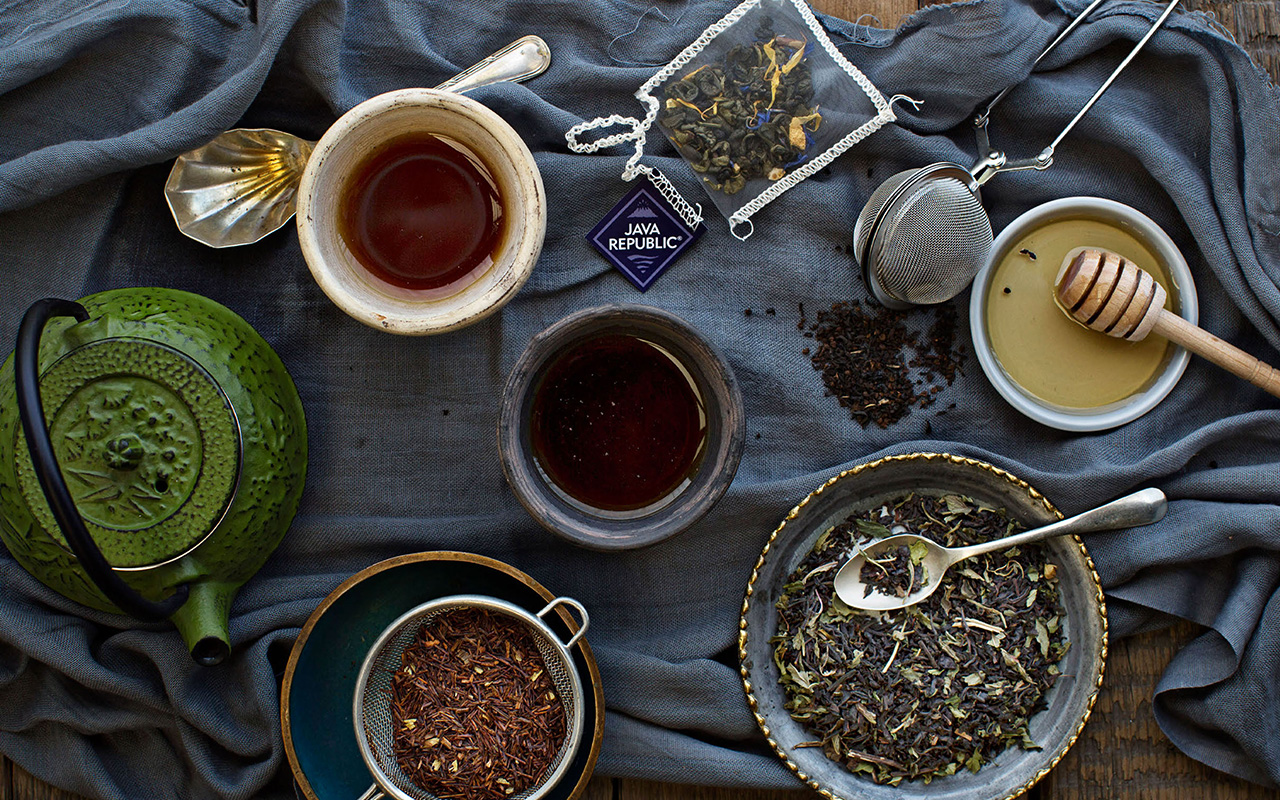 Serving suggestions for Java Republic Teas