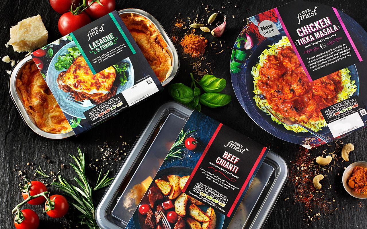 Fresh Meals Delivered >> Creative Brand Case Study | Packaging FMCG Design | Tesco Finest