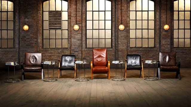 A panel of chairs