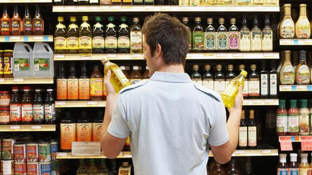 Consumer making a choice
