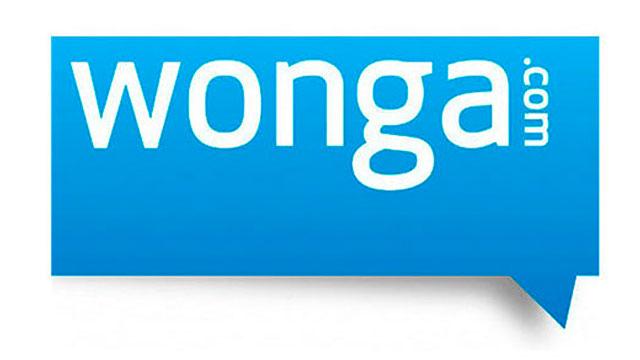 Wonga.com Blue Logo