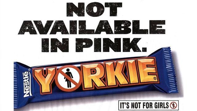 Yorkie Chocolate Advertisement