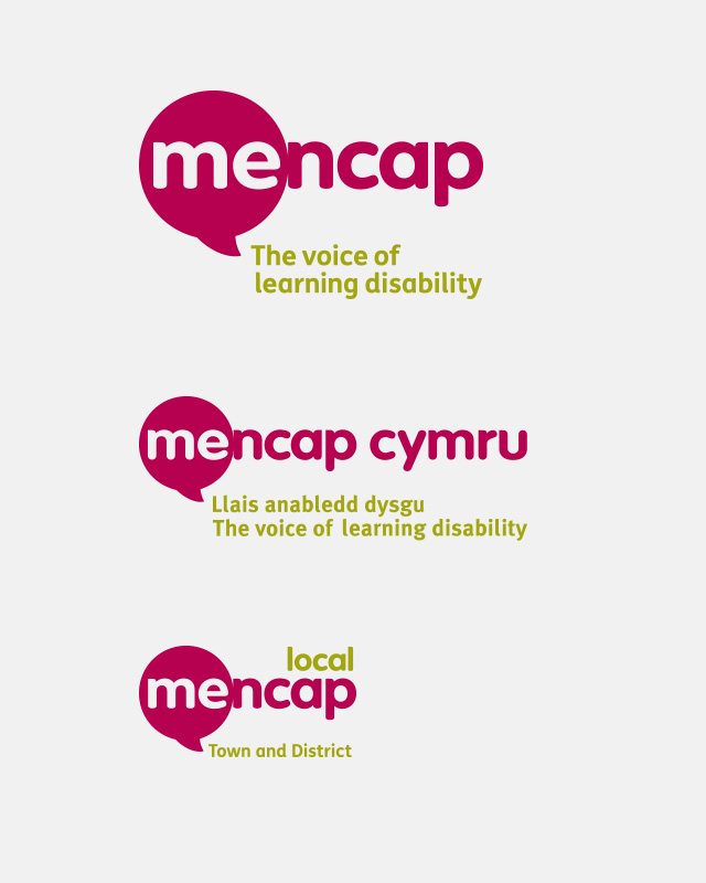 Mencap hierachy reposition and rebrand