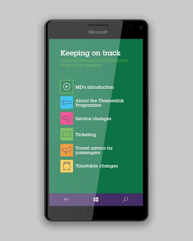 Southeastern Nokia employee engagement app