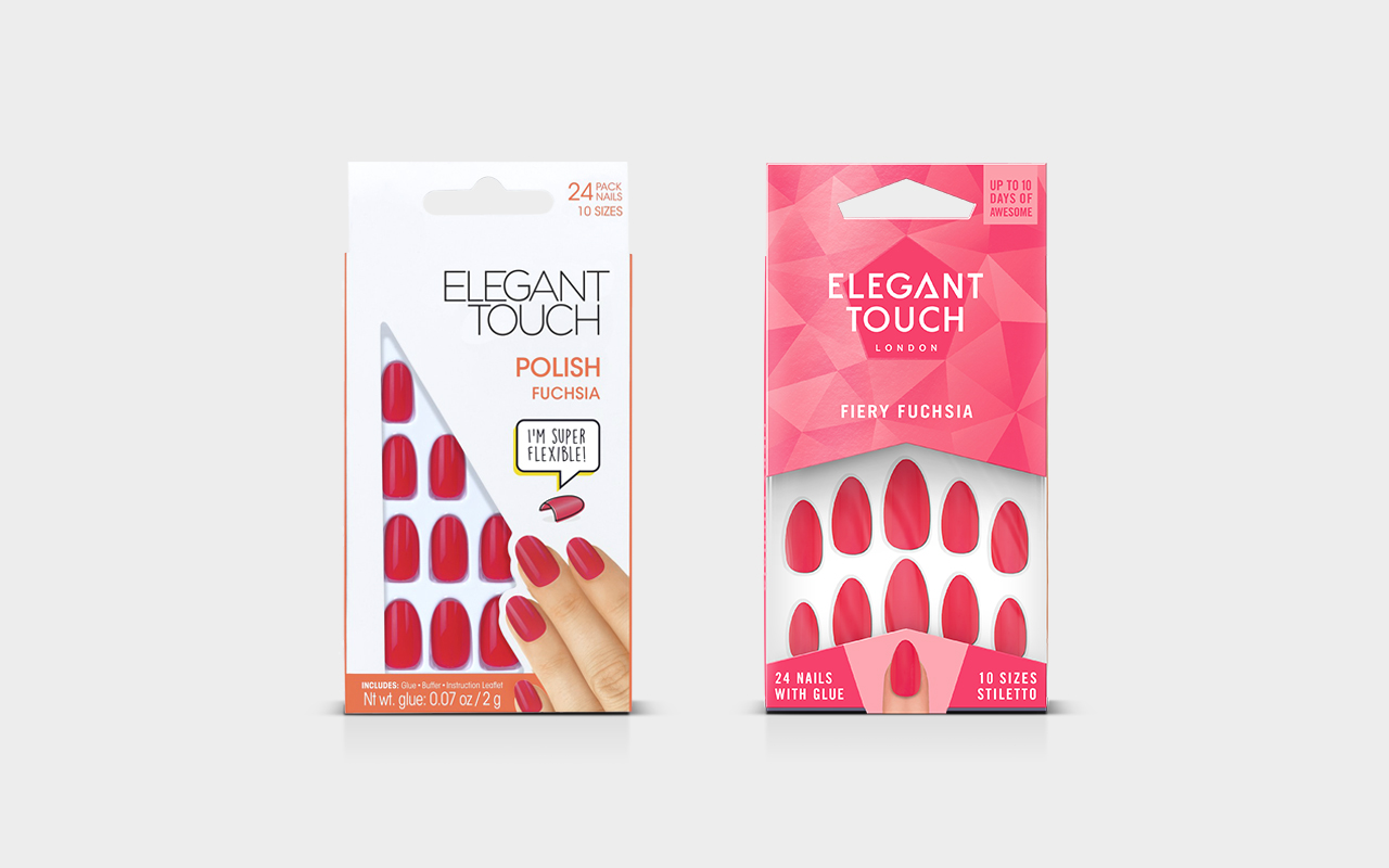 Elegant Touch new packaging design