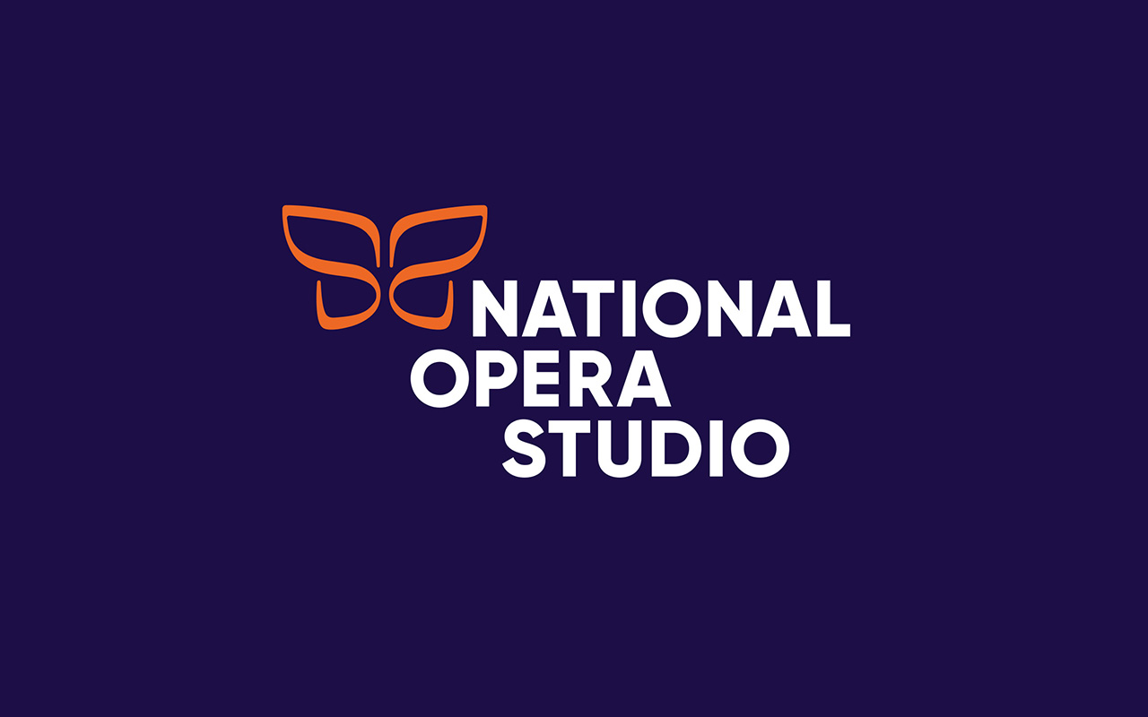 National Opera Studio new brand identity campaign, new logo development